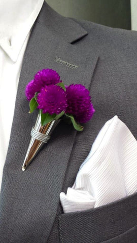 Flower Vase Lapel Pin