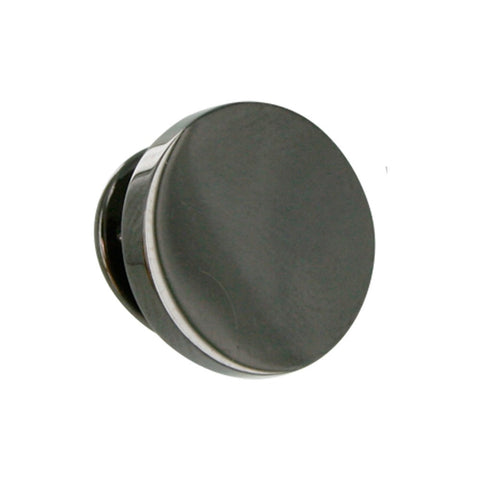 Gunmetal Round Lapel Pin