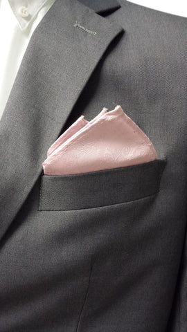 Pastel Pink Patterned Hanky