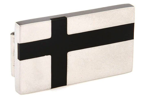 Black Cross Money Clip