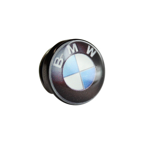 Printed Car Badge Round Lapel Pin