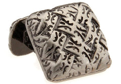 Antique Square Celtic Cufflink