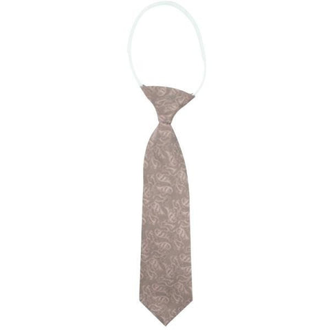 Romantic Dusty Pink Patterned Junior Tie