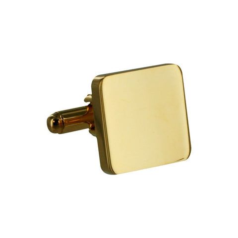 TNC Square Gold Cufflinks