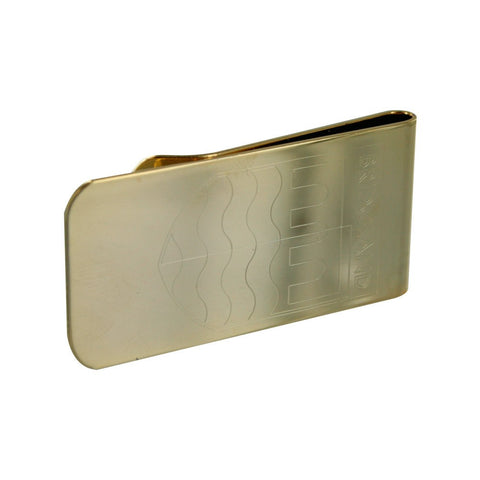 Personalised Logo Money Clip Gold