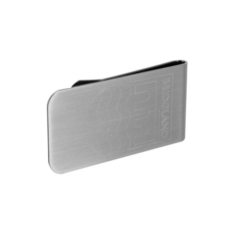 Personalised Logo Money Clip Brushed