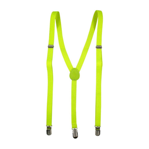 Fluoro Yellow Skinny Braces