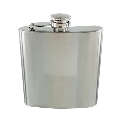 Personalised Plain Hip Flask