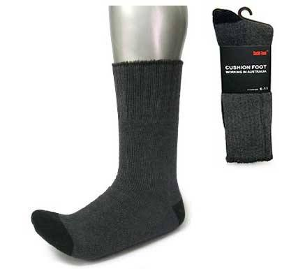 Personalised Grey Work Wear Socks
