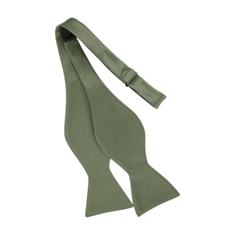 Tie Your Own Bow Tie Olive