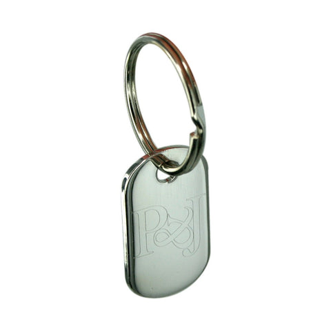 Personalised Engraved Tag Key Ring