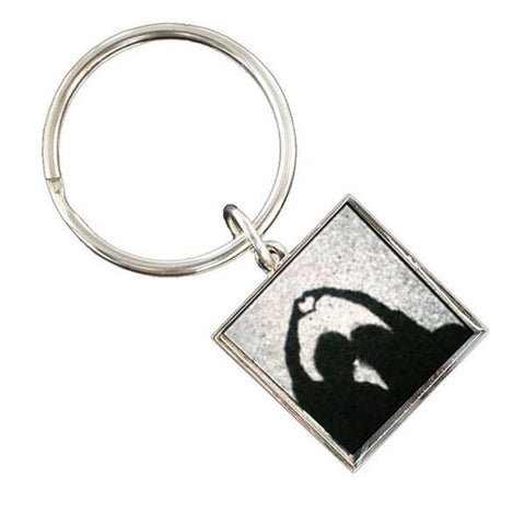 Personalised Valentines Day Printed Large Square Key Ring