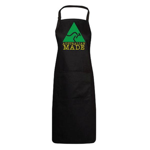 Australia Day Personalised Printed Black Apron