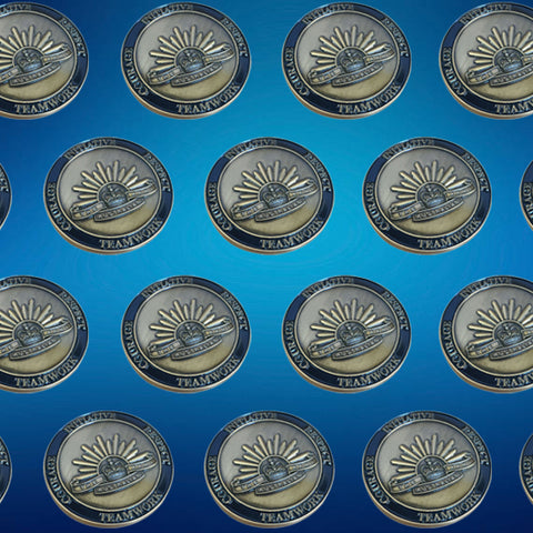 Custom Made Bulk Single Sided Coin