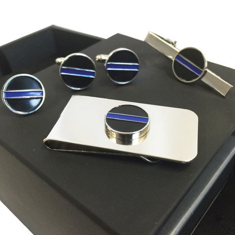 Custom Made Blue Line Set