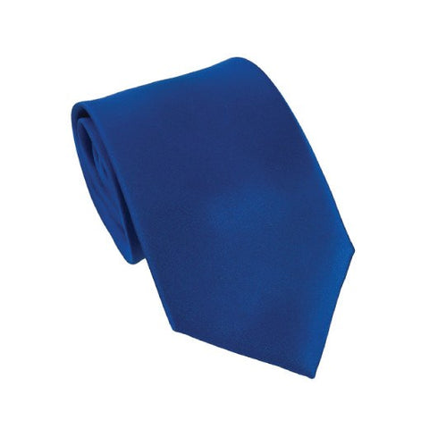 Romantic Royal Blue Silk Wedding Tie
