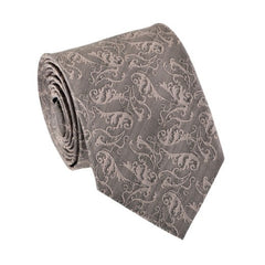 Romantic Dusty Pink Patterned Tie