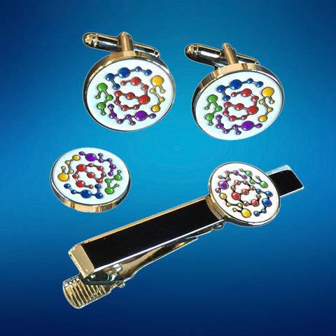20 Custom Made Cufflinks, Tiebar, Lapel Pin Set
