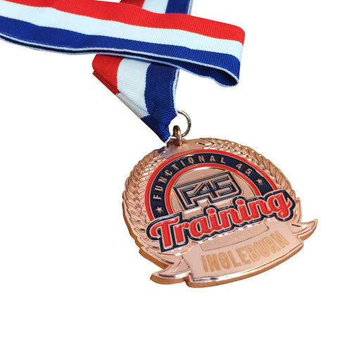 F45 Custom Made Medals