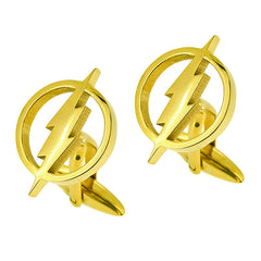 The Flash Gold Cufflinks