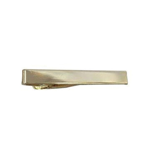 Gold Funky Short Plain Tiebar