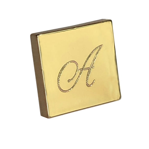 Gold Plated Engraved Lapel Pins