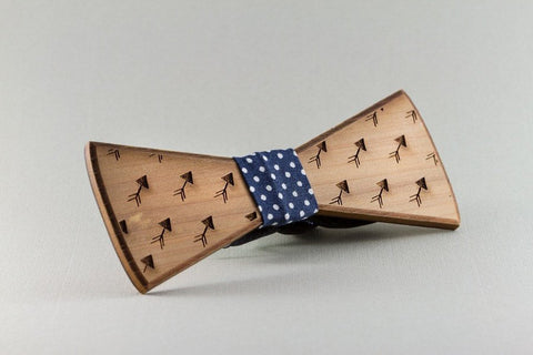 Arrow Wood Bow Tie