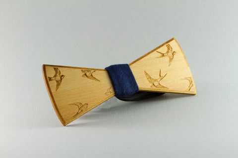 Swallows Wood Bow Tie