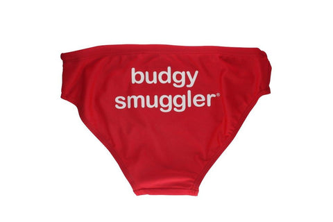 Budgy Smuggler -Red