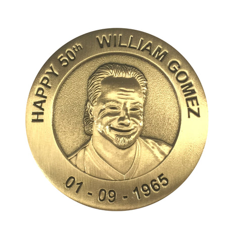 Personalised One-Off Coin