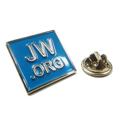 Jehovahs Witness Enamel Lapel Pin