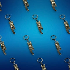 Custom Made Bulk Bottle Opener Keyrings