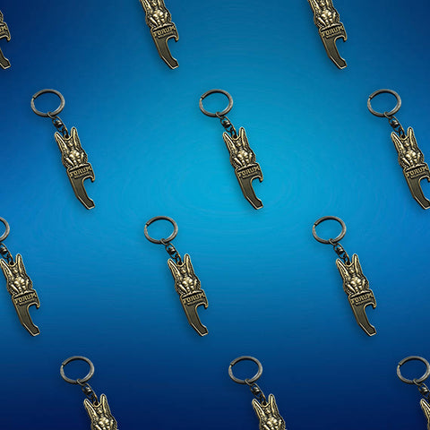 100 Custom Made Keyrings
