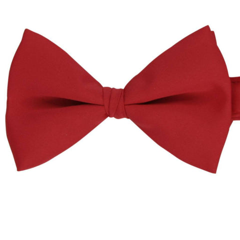 Coral Polyester Bow Tie