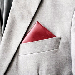Rouge Red Silk Pocket Hanky