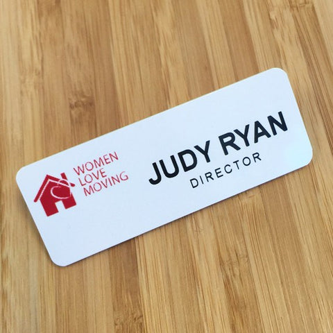 Personalised Printed Name Badges