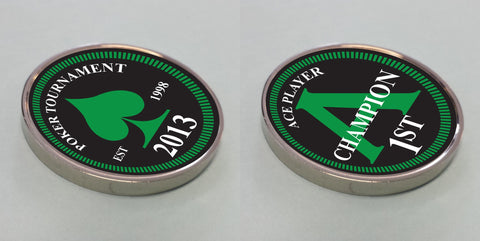 Personalised Printed One Off Coin - Double Sided