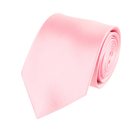 Pink Perfection Silk Wedding Tie