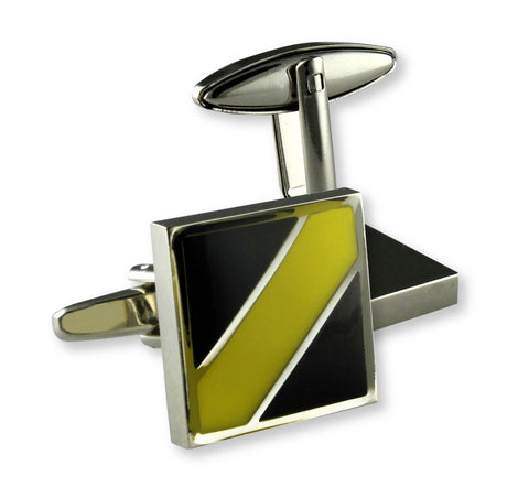 AFL Richmond Tigers Coloured Cufflinks
