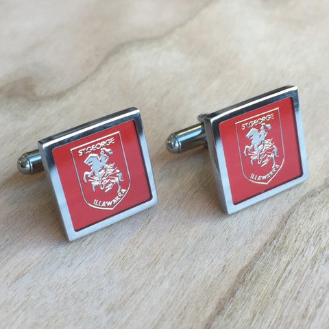 NRL St. George Illawarra Dragons Cufflinks