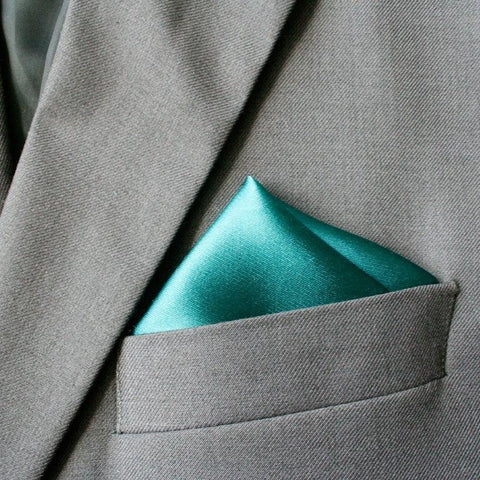 Paris Green Silk Pocket Hanky
