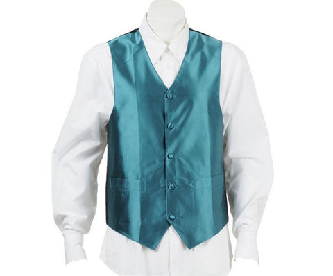 Paris Green Silk Vest