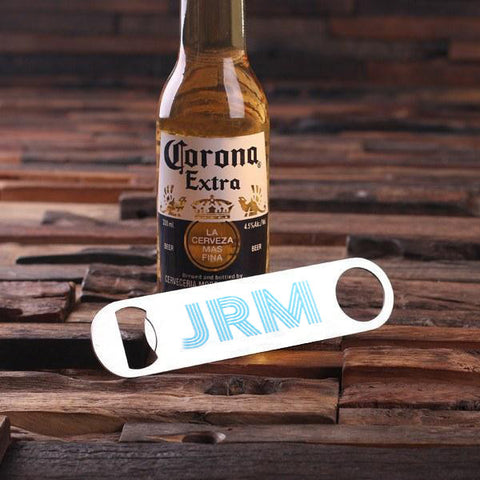 Personalised Printed Stainless Steel Bottle Opener