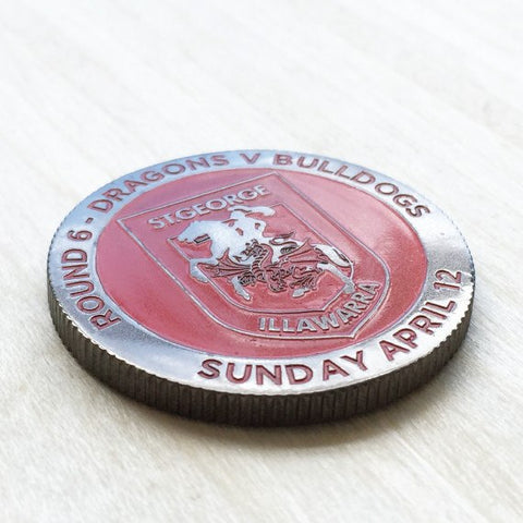 Colour Engraved Coin