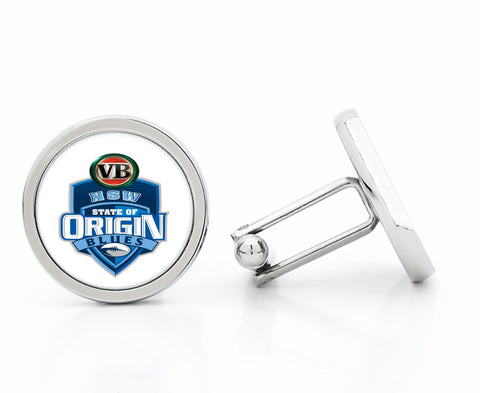 NRL Blues NSW Origin Cufflinks