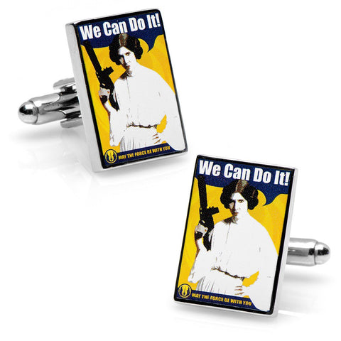 Star Wars We Can Do It Propaganda Poster Cufflinks