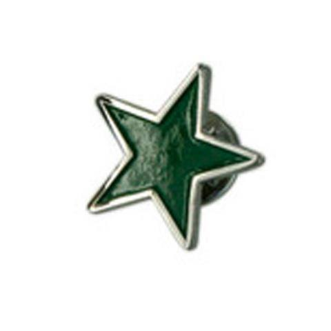Green Star Lapel Pin