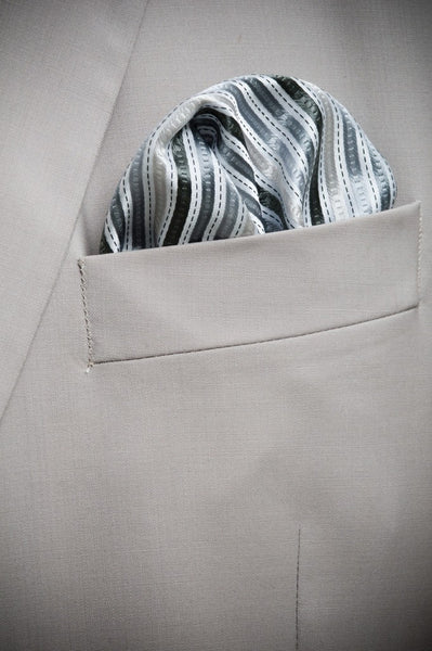 Custom Made Silk Satin Pocket Square