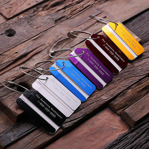 Personalised Aluminum Luggage Tag
