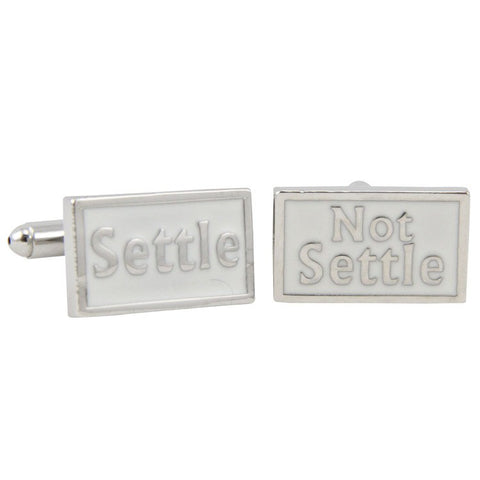 Settle | Not Settle Cufflinks